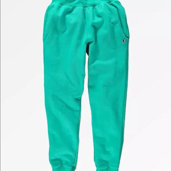 Men/'s Champion Reverse Weave Pigment Dye Jogger Sweatpants Blue Navy Size XL